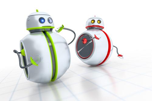 Индийские роботы в банке